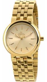 Relógio Allora Feminino Analógico Dourado - Al2035lv/4d