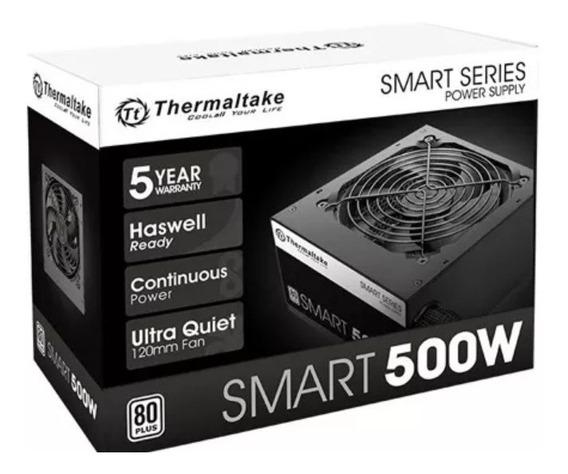 Fonte Thermaltake 500w Reais - 80 Plus