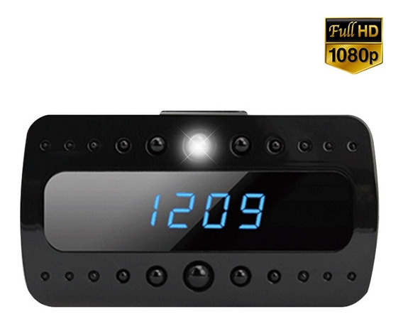 Camara Seguridad Espía Oculta Reloj Audío P2p Wifi 1080p