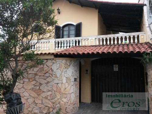 Imagem 1 de 15 de Casa Assobradada Em Vila Alice  -  Santo André - 1011