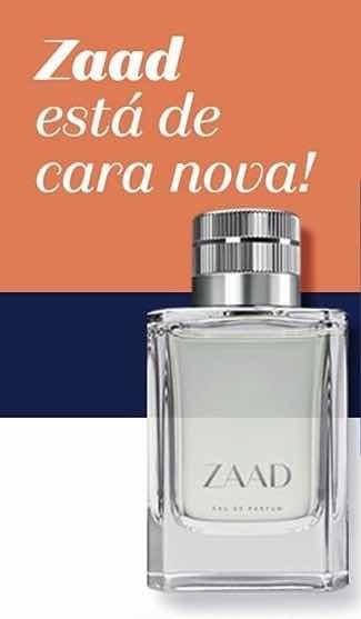 Zaad Eau De Parfum 95ml Original Lacrado (nova Embalagem)