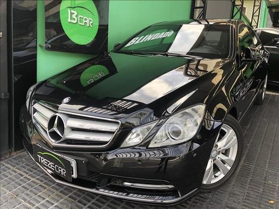Mercedes-benz E 250 Cgi Coupe 1.8 Turbo 204 Cv 2p Blindada