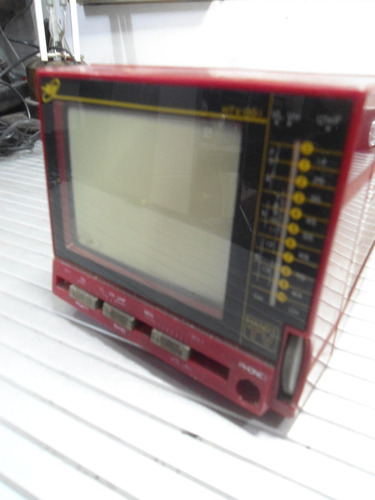 Mini Tv Tele Htv-001 - No Estado