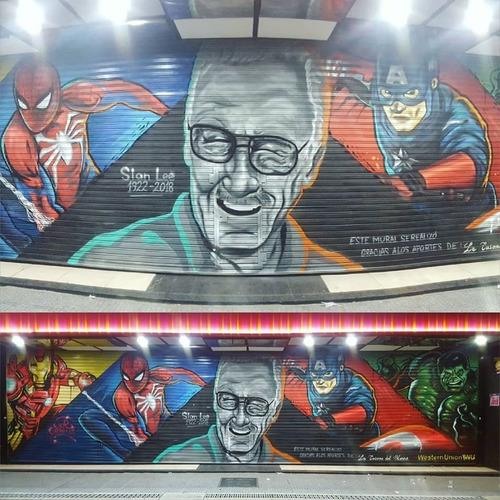 Imagen 1 de 9 de Mural, Graffiti, Graffitero Grafitero Grafiti Grafity Graff