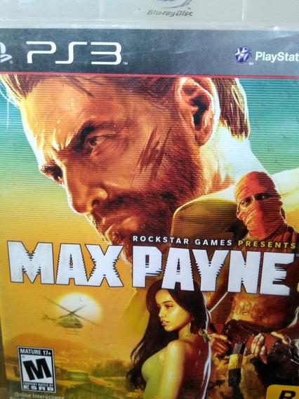 Max Payne 3 Ps3 Original , A Pronta Entrega