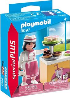 Playmobil Special Plus Figura Pastelera 9097