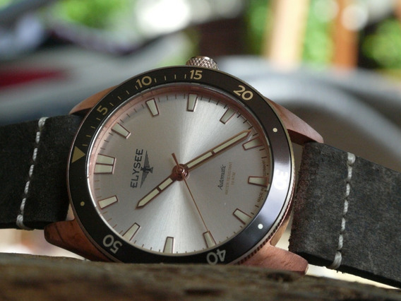 Relógio Elysee Bronze Automatic 98011 Made In Germany