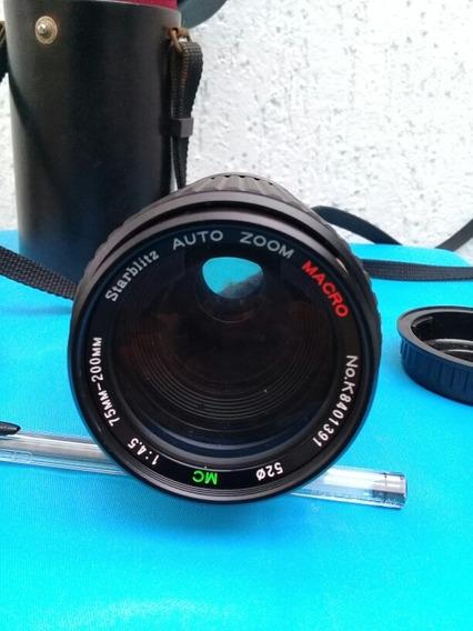 Lente Starblitz (auto Zoom) Macro 75 Mm - 200 Mm