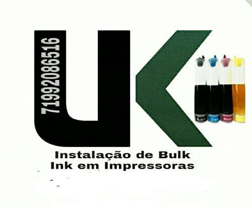 Manutenção & Instalação De Bulk Ink