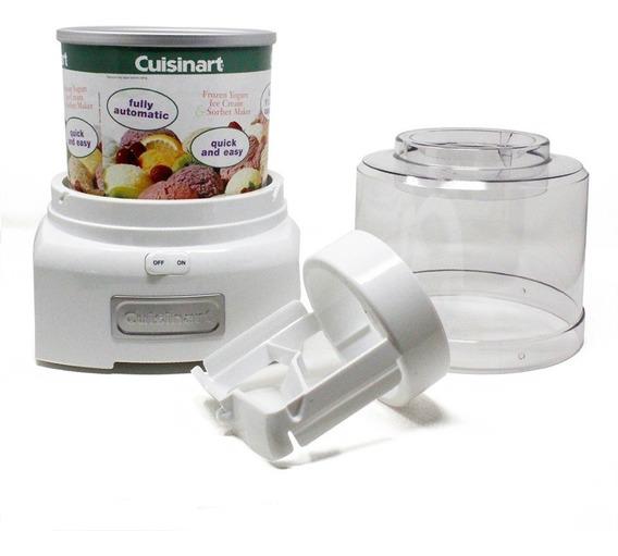 Máquina Para Hacer Helado O Yogurt Congelado Blanco Cuisinart Ice-21fr Reempacado