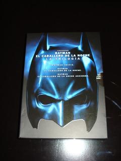 Batman El Caballero De La Noche - La Trilogía En Dvd
