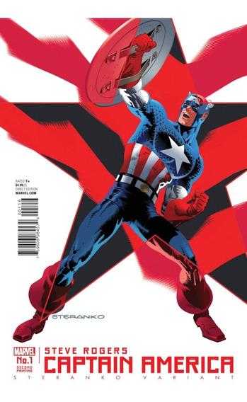 Captain America Steve Rogers #1 Steranko (2016) Marvel