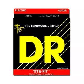 Encordoamento Dr Strings Mt10 Tite-fit Niquel 10-46