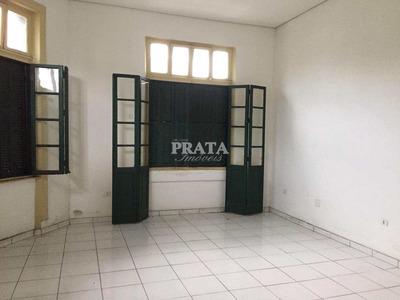 Santos Centro Prédio Antigo Com Elevador Sala 60 M² S/garagem - A397977