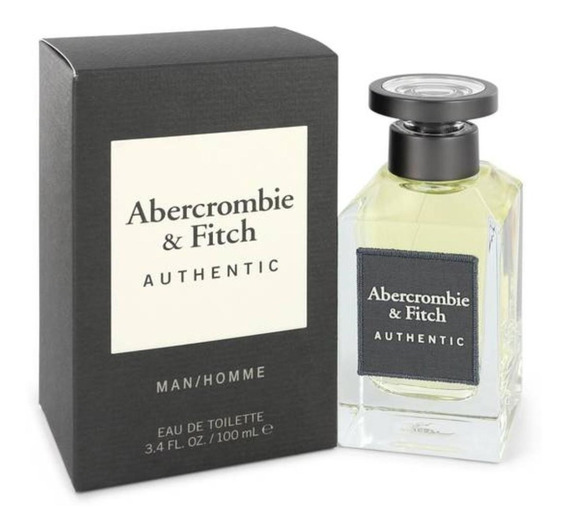 Authentic Man Abercrombie & Fitch Perfume Masculino Edt 100m