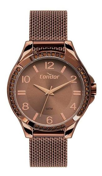 Relógio Condor Feminino Co2035mtm/4m C/ Garantia E Nf