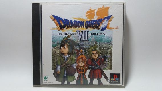 Dragon Quest Vii 7 - Ps1 - Original Japonês
