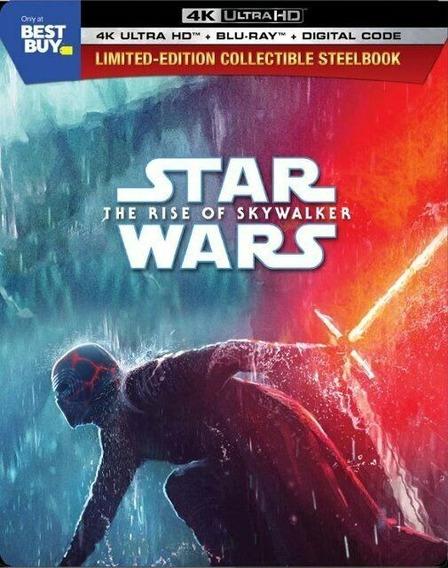 Star Wars Episodio 9 Ascenso Skywalker Steelbook 4k Ultra Hd