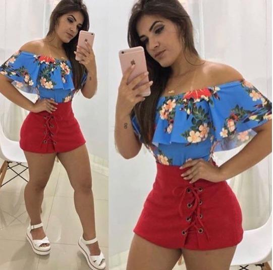 Saia Shorts No Vengaline Illoes Lançamento 2018
