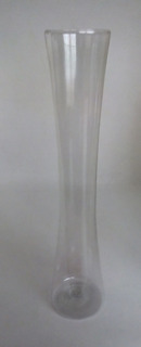 Florero Plástico Espiga Centro De Mesa Plástico Tipo Cristal