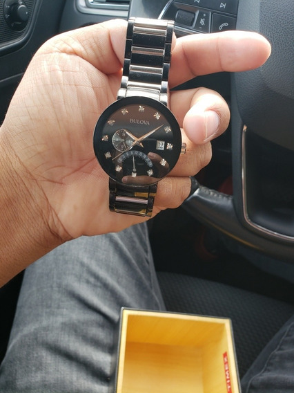 Reloj Boulova 12 Diamantes