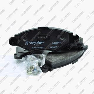 4 Pastillas De Freno Dl Peugeot 207 1.4 Hdi Original