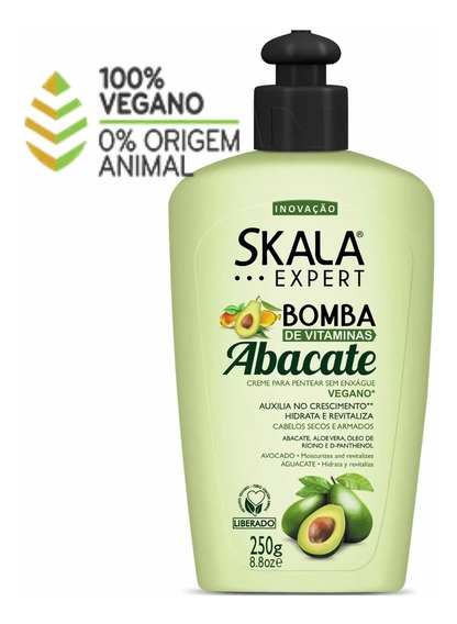 Crema Peinar Skala Liberada Y Vegana Abacate