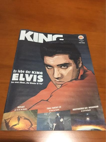 Revista Promocional Elvis Presley (alemanha) Burger King