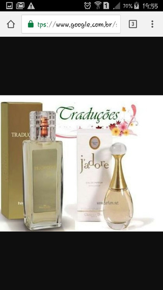 Perfume Jadore Hinode Traduções Gold