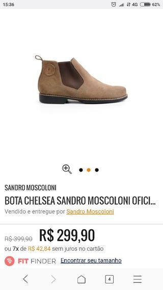 Bota Sandro Moscoloni Chelsea