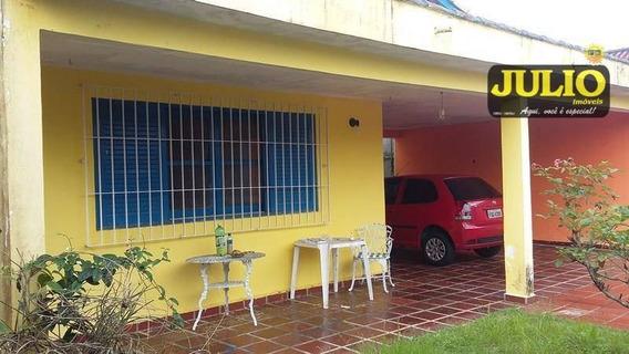 Entrada R$ 70.000,00 + Saldo Super Facilitado, Casa Com 4 Dormitórios, 152 M² Construído - Vila Atlântica - Mongaguá/sp - Ca2535