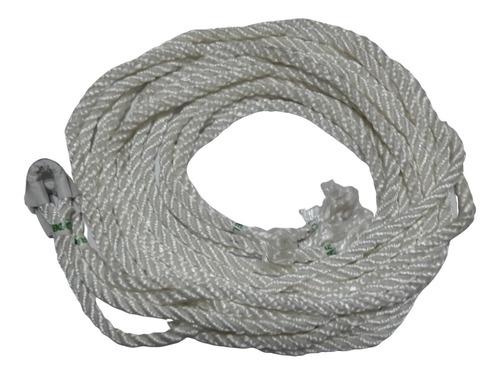 Imagen 1 de 6 de Soga Para Hamaca Extra Larga. Cuerda 2.50 Mt Par Extensiones