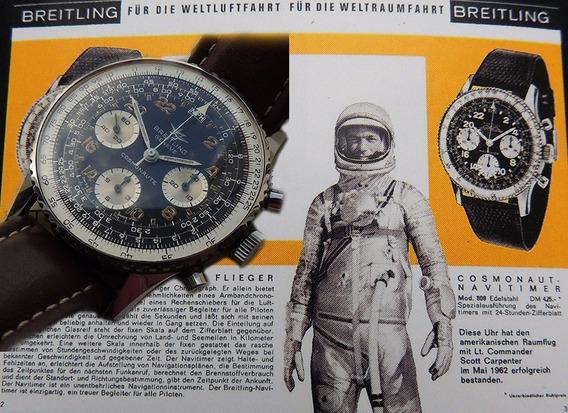 Breitling Navitimer Cosmonaute Ref 809 O Verdadeiro 60
