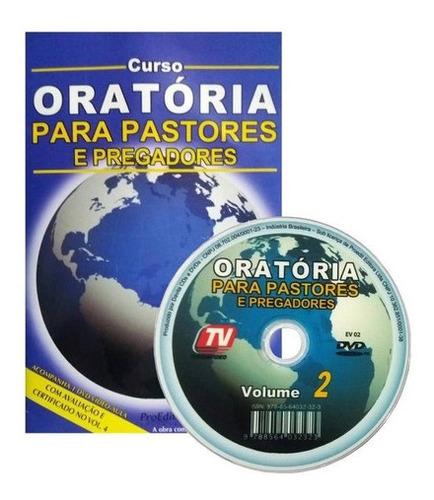 Imagem 1 de 1 de Dvd Oratória Para Pastores Pregadores Vol. 2
