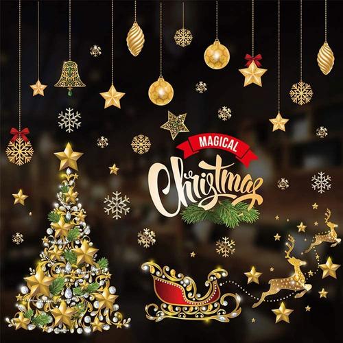 Adhesivos Decorativos Para Ventanas De Navidad