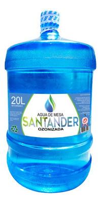 Bidones De Agua Santander Ozonizada 20 Litros