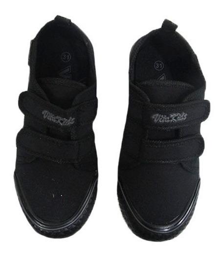 Zapato Para Niño Colegial Marca Vita Kids