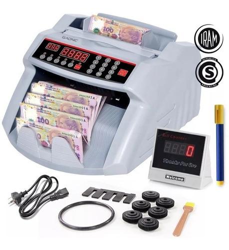 Contadora De Billetes Maquina Contar Dinero Detector Falsos