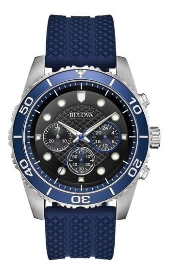 Relógio Masculino Bulova 98a190 Borracha