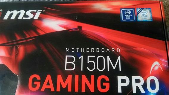 Placa Mãe Msi B150m Gaming Pró - Intel Lga1151 **c/defeito**
