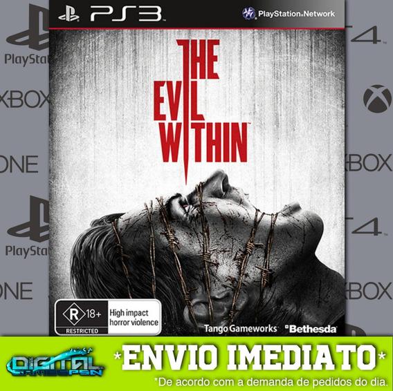 The Evil Within Ps3 Psn Midia Digital Envio Rapido!