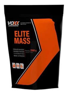 Elite Mass Voxx 2,56kg - Morango