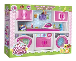 Lavanderia Infantil Max House 702 Lua De Cristal