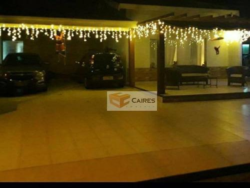 Casa Com 3 Dormitórios À Venda, 263 M² Por R$ 945.000,00 - Jardim Okinawa - Paulínia/sp - Ca3066