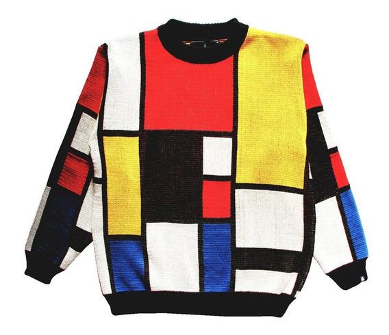 Sweaters Sin Genero Mondrian This Is Feliz Navidad