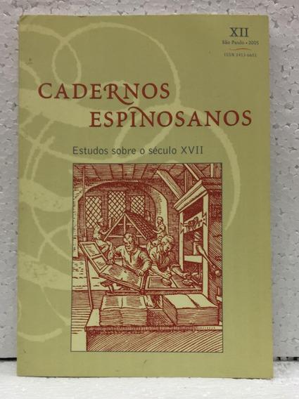 Cadernos Espinosanos Estudos Sobre O Século Xvii