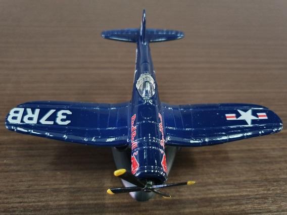 Miniatura Coleção Burago Avião The Flying Bulls Original