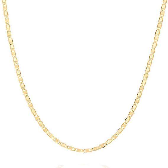 Cordão Rommanel Fita 50 Cm Feminino Fol.ouro Cod. 531156 .