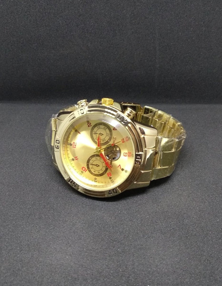 Relógios Quartz Dourado