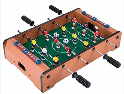 Imagen 1 de 1 de Juego De Salon  Futbolito De Mesa, 1er Nivel 12 Jugadores